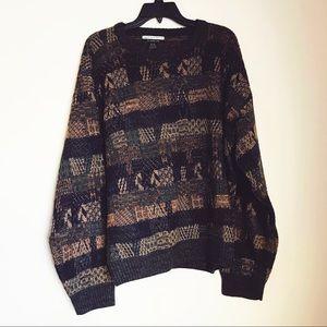 Geoffrey Beene Vintage coogi Style Sweater